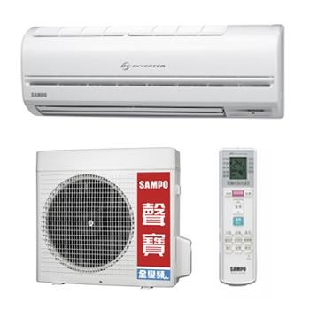 聲寶SAMPO AM-QH20D/AU-QH20D   變頻一對一分離式省能冷氣機
