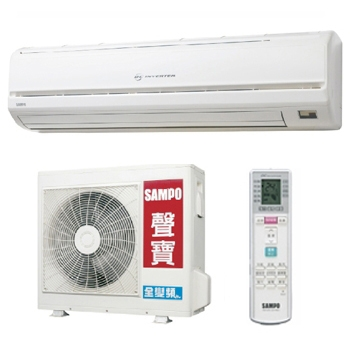 聲寶SAMPO AM-QH45D/AU-QH45D   變頻一對一分離式省能冷氣機