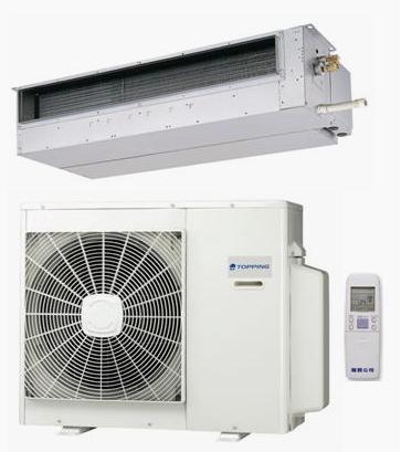聲寶TOPPING TAU-F80+TCH-F80   隱藏式一對一分離式冷氣機