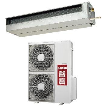 聲寶SAMPO UH-PY125+CH-PY125L   隱藏式一對一分離式冷氣機
