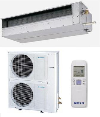 聲寶TOPPING TAU-F100+TCH-F100   隱藏式一對一分離式冷氣機