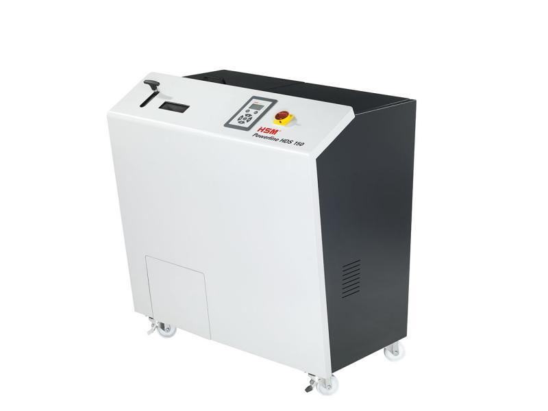 德國原裝 HSM Powerline HDS 150 硬碟粉碎機