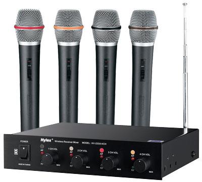 Hylex HV-233IV (4CH)  4頻無線麥克風