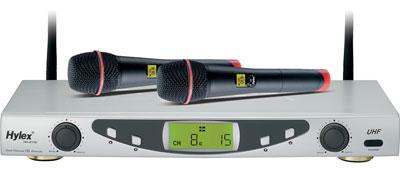 Hylex HU-8116(2 CH/PLL-16) 雙頻無線麥克風