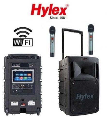 Hylex PA-880液晶觸控式攜帶無線擴音機 (智慧型觸控銀幕.Wifi.藍牙.功能)