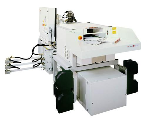 德國原裝 HSM SP50100輸送帶式+壓縮+自動鐵線捆包碎紙機