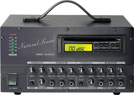 POKKA PA-202R-CD3SU 攜帶式\車上型廣播擴音器